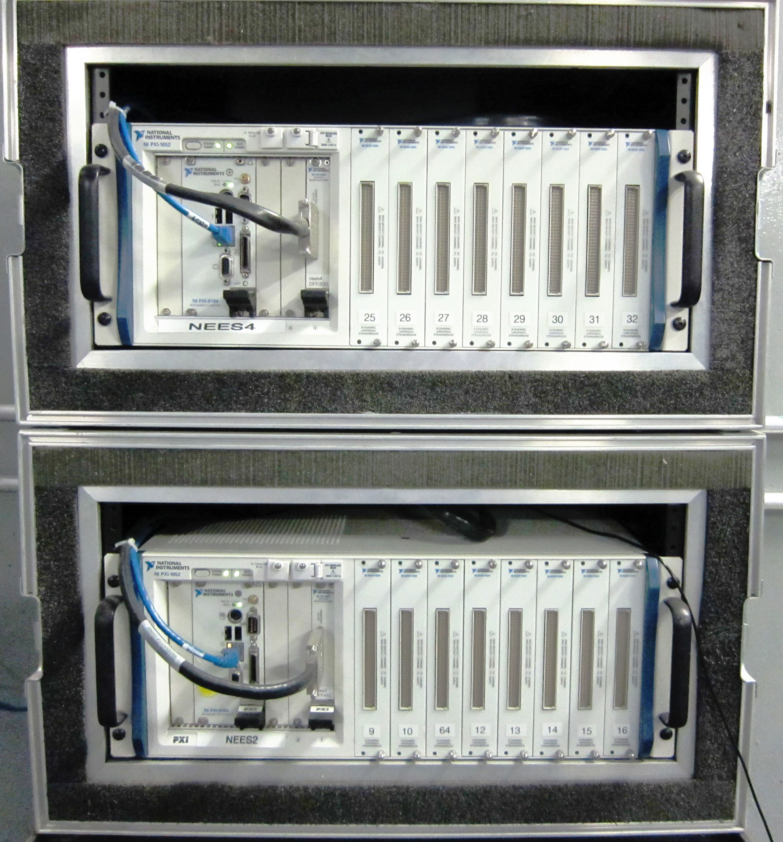 Pxi Data Acquisition System : Nees uc san diego data acquisition
