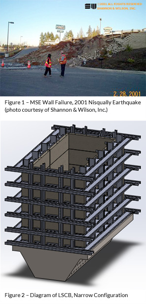 Earthquake Performance of Large-Scale MSE Retaining Walls